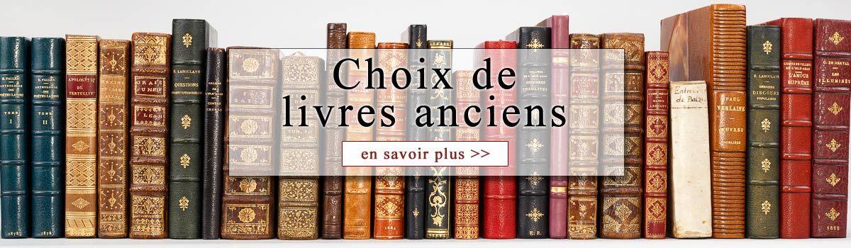Achat livres anciens et livre rare. Achat de bibliothèque & livre rare  d'occasion