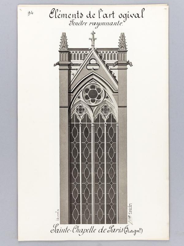 Bonnet J Architecture Gothique Lot De 10 Beaux Lavis Originaux