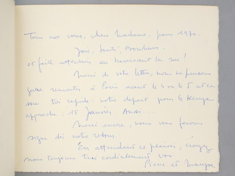 LETELLIER, Pierre 4 lithographies en tirage limitée ou épreuve d ...