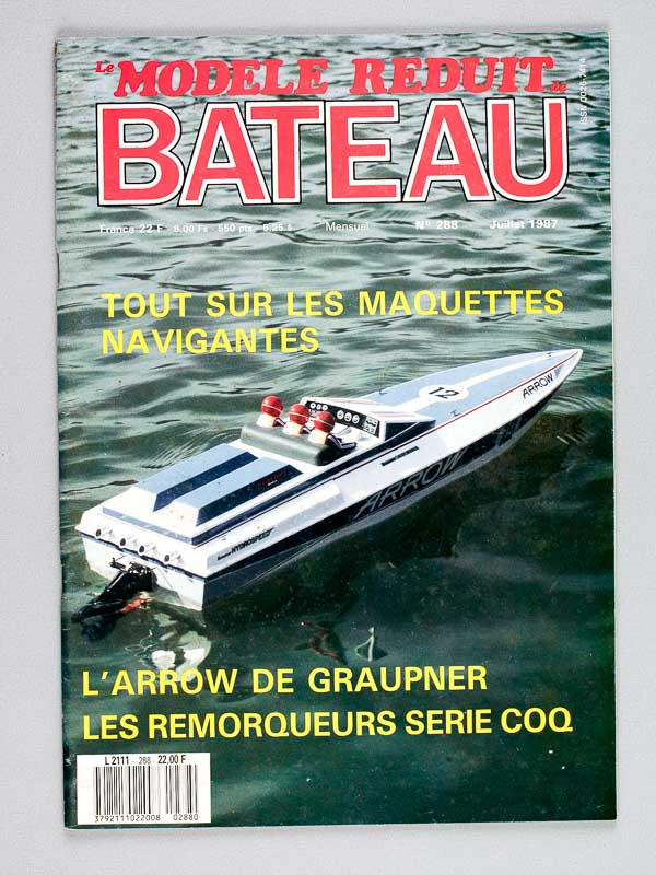 le mod le r duit de bateau revue le mod le r duit de bateau ann e 1987. Black Bedroom Furniture Sets. Home Design Ideas