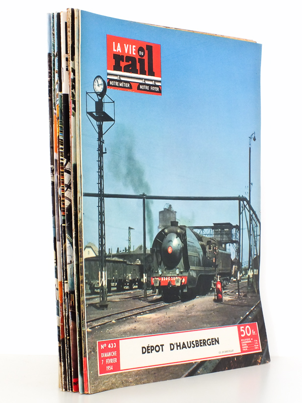 la vie du rail revue la vie du rail lot de 8 num ros