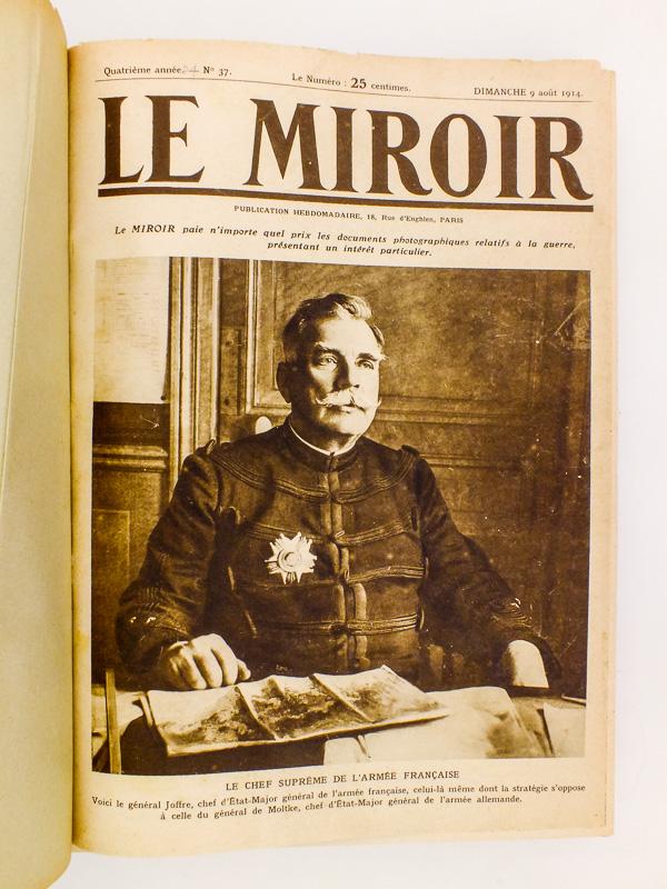 Collectif le miroir revue le miroir publication for Histoire du miroir