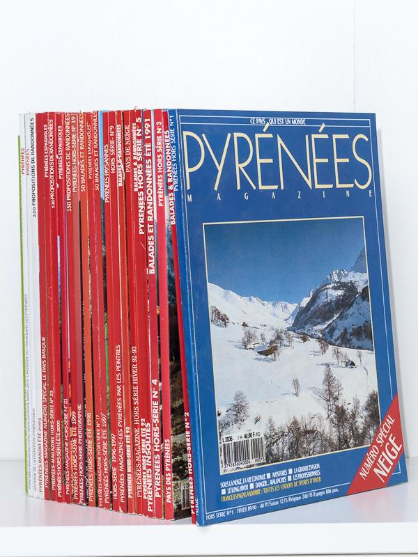 bdd9326fdc Pyrénées Magazine (revue) Pyrénées Magazine ( lot de 23 num. hors-série ...