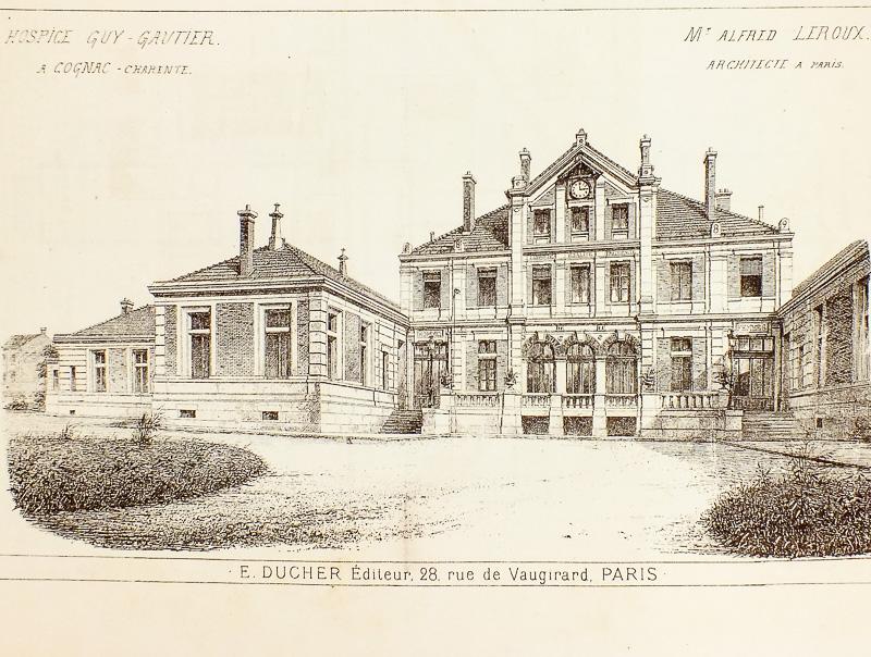 Ducher dit raguenet a dir leroux alfred for Architecte cognac