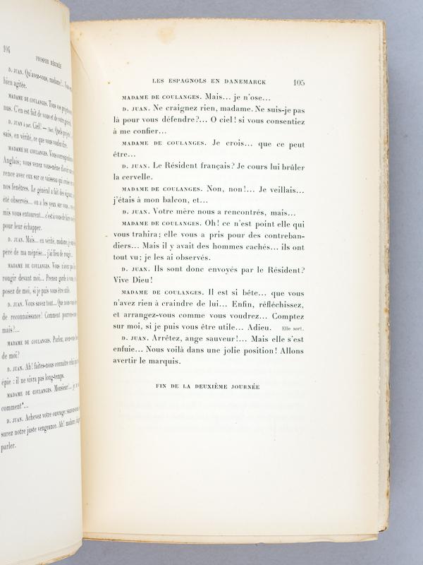 Merimee prosper oeuvres de prosper m rim e 11 tomes - La chambre des officiers resume complet du livre ...