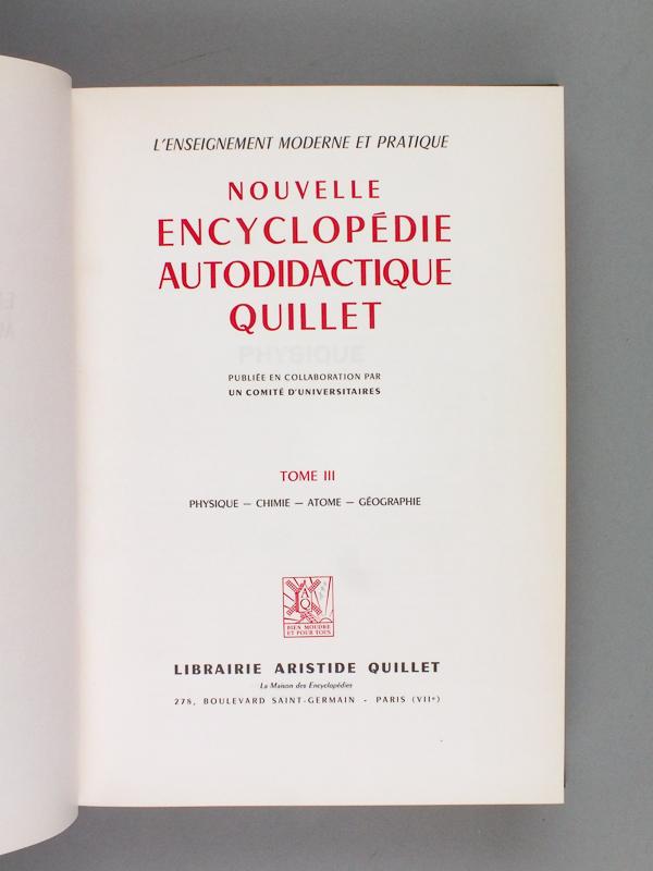 encyclopedie universitaire