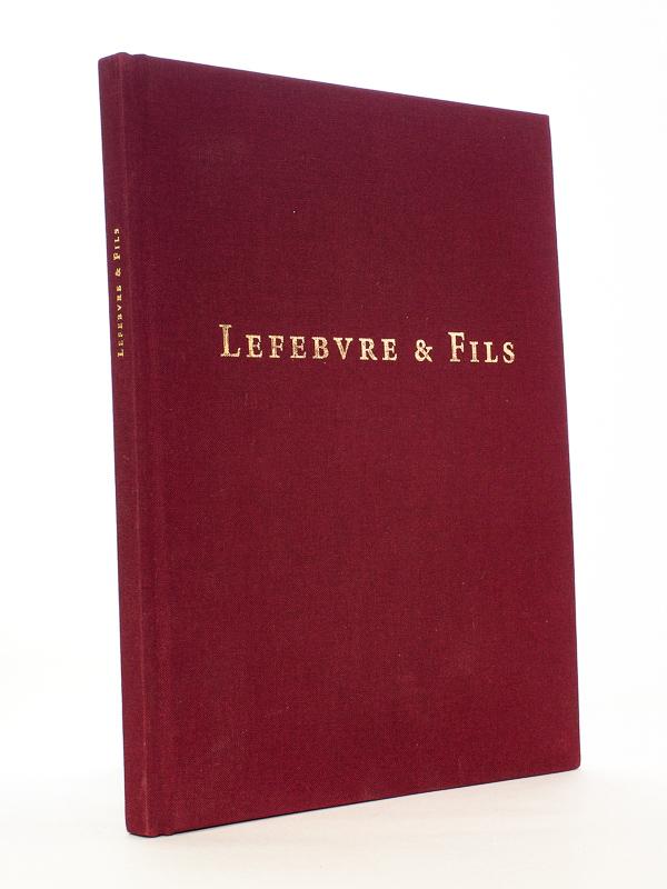 LEFEBVRE & Fils, Paris