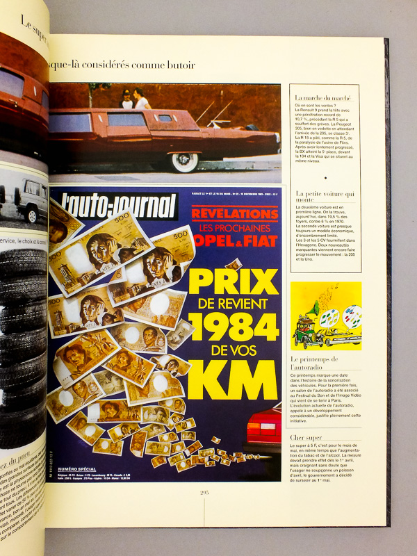 l 39 auto journal revue l 39 auto journal 1977 2000 livres d. Black Bedroom Furniture Sets. Home Design Ideas