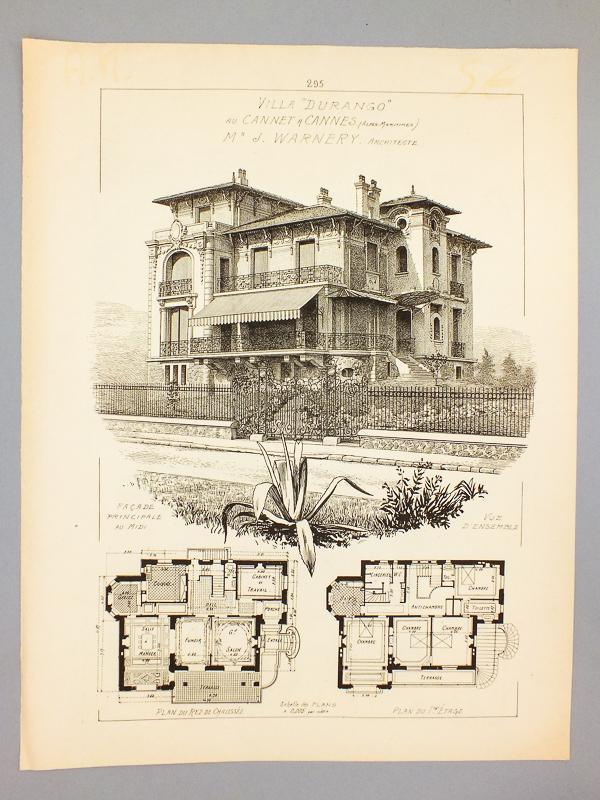 ducher fils dit raguenet a dir warnery j james architecte monographies de. Black Bedroom Furniture Sets. Home Design Ideas