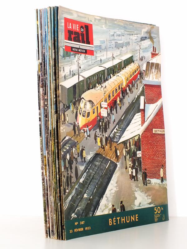 la vie du rail revue la vie du rail lot de 14 num ros. Black Bedroom Furniture Sets. Home Design Ideas