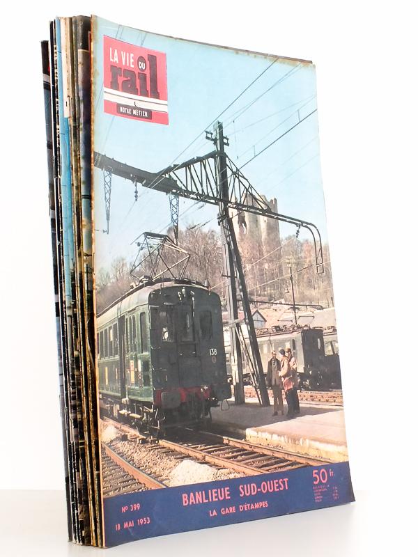 la vie du rail revue la vie du rail lot de 11 num ros. Black Bedroom Furniture Sets. Home Design Ideas